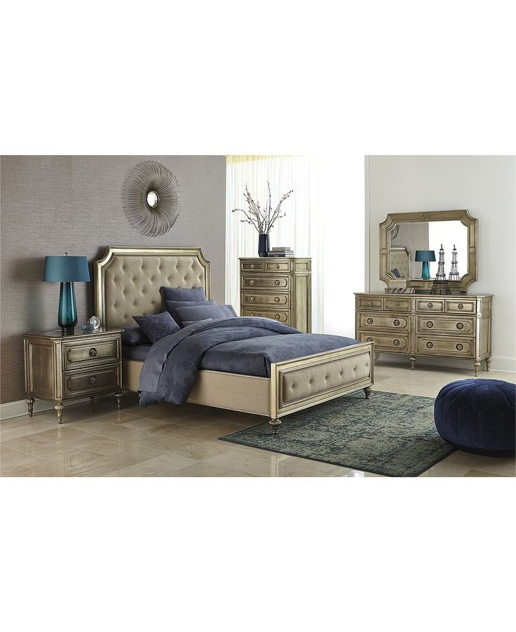 Best ideas about Macys Bedroom Sets . Save or Pin Prosecco 3 Piece Queen Bedroom Furniture Set with Chest Now.