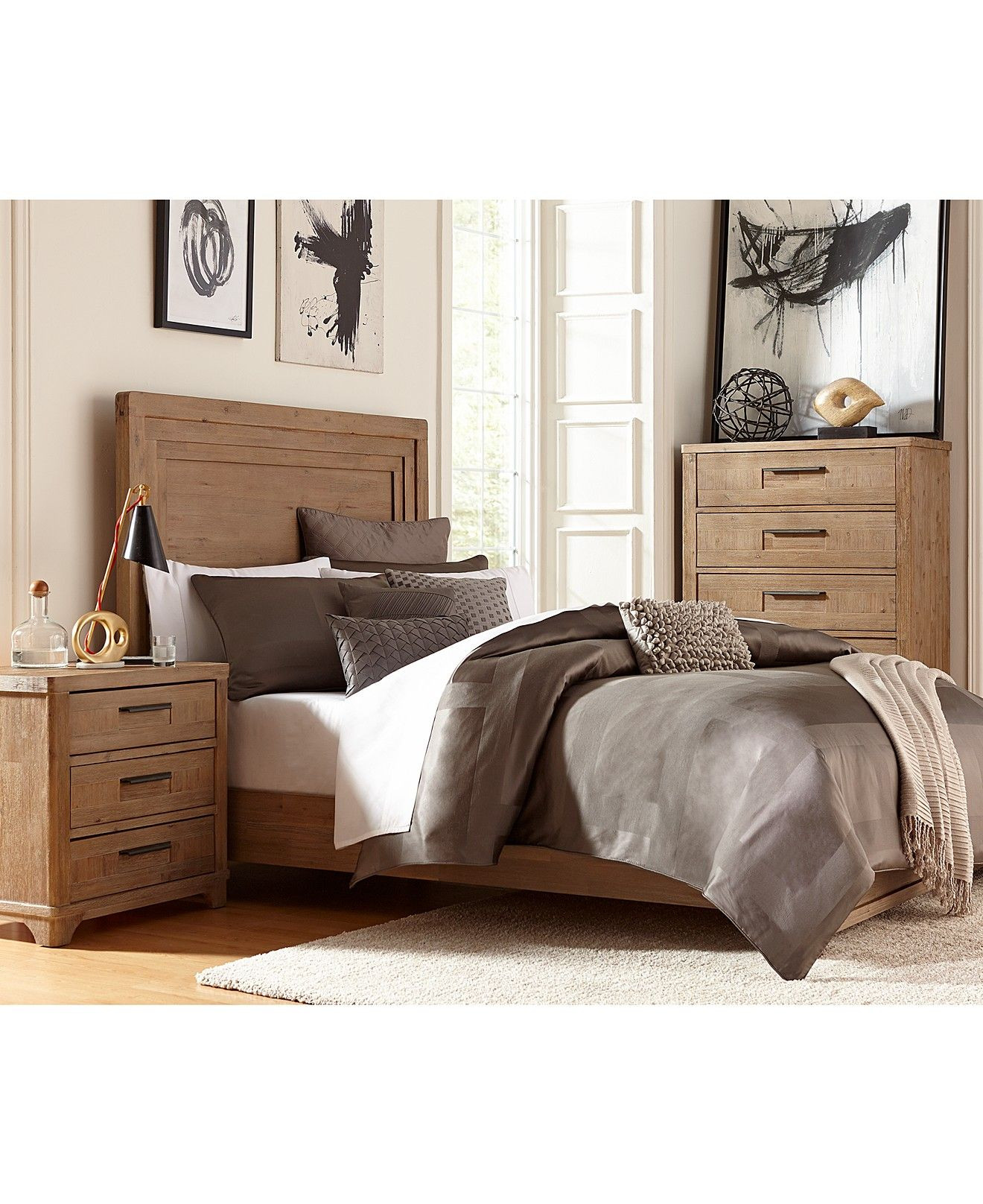 Best ideas about Macys Bedroom Sets . Save or Pin Summerside 3 Piece Queen Bedroom Furniture Set with Chest Now.