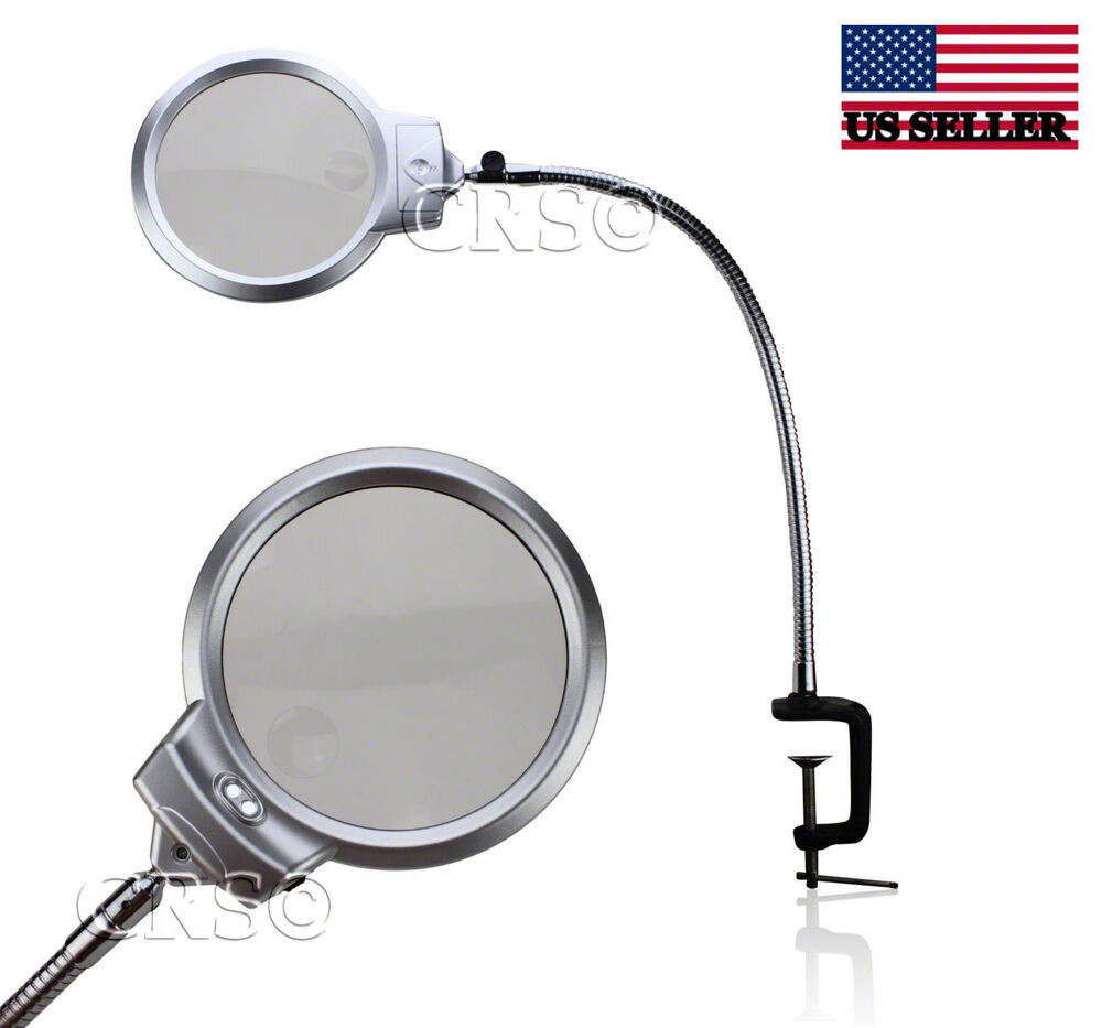 Best ideas about Magnification Desk Lamp . Save or Pin ILLUMINATED MAGNIFYING CLAMP ON TABLE DESK LAMP LED Now.