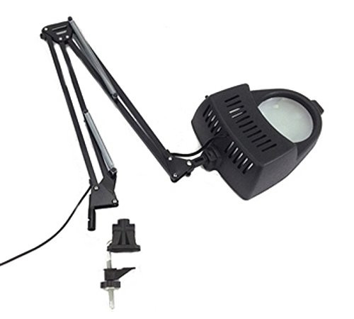 Best ideas about Magnify Desk Lamp . Save or Pin Clamp on Swing Arm Lighted Magnifying Lamp Hobby Work Desk Now.