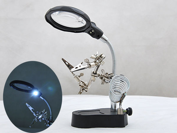 Best ideas about Magnify Desk Lamp . Save or Pin Woo DESK LAMP MAGNIFIER WELDING TABLE MAGNIFYING GLASS Now.