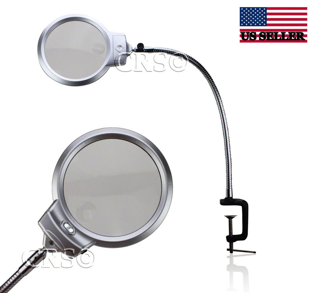 Best ideas about Magnify Desk Lamp . Save or Pin ILLUMINATED MAGNIFYING CLAMP ON TABLE DESK LAMP LED Now.