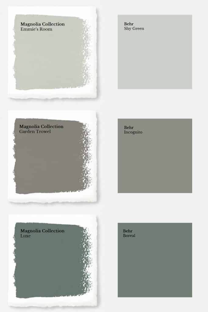 Best ideas about Magnolia Paint Colors . Save or Pin Magnolia Paint Colors Matched to Behr Joyful Derivatives Now.