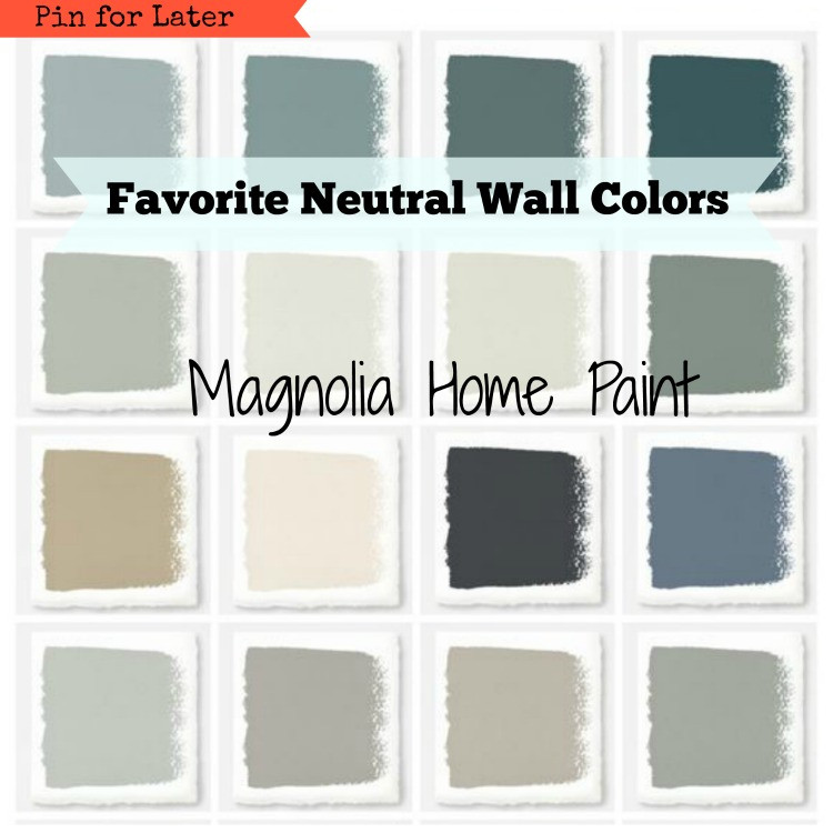 Best ideas about Magnolia Paint Colors . Save or Pin Magnolia Paint Favorite Neutral Wall Colors Hallstrom Home Now.