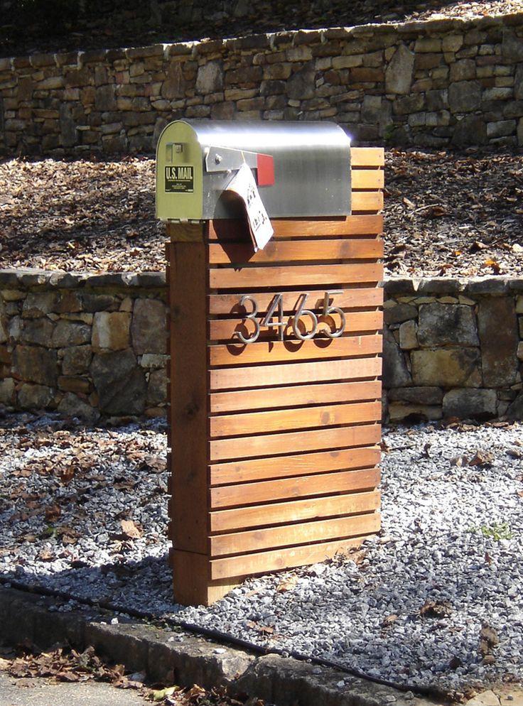 Best ideas about Mailbox Post DIY . Save or Pin Best 25 Modern mailbox ideas on Pinterest Now.