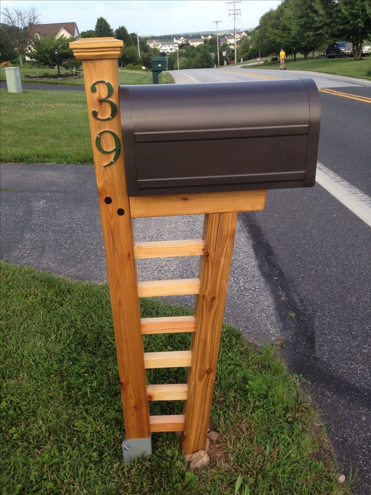Best ideas about Mailbox Post DIY . Save or Pin 17 Best ideas about Mailbox Post on Pinterest Now.