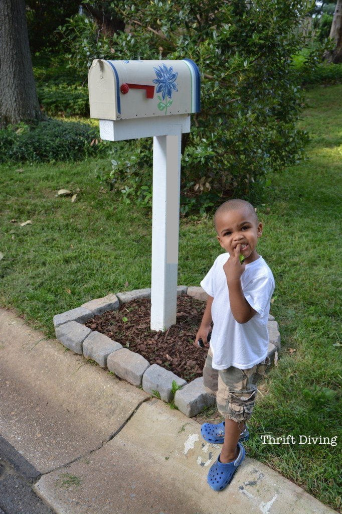 Best ideas about Mailbox Post DIY . Save or Pin How to Build Paint and Install a Custom DIY Mailbox Now.