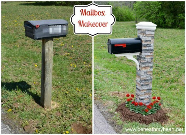 Best ideas about Mailbox Post DIY . Save or Pin DIY Mailboxes Project Ideas DIY Projects Craft Ideas & How Now.