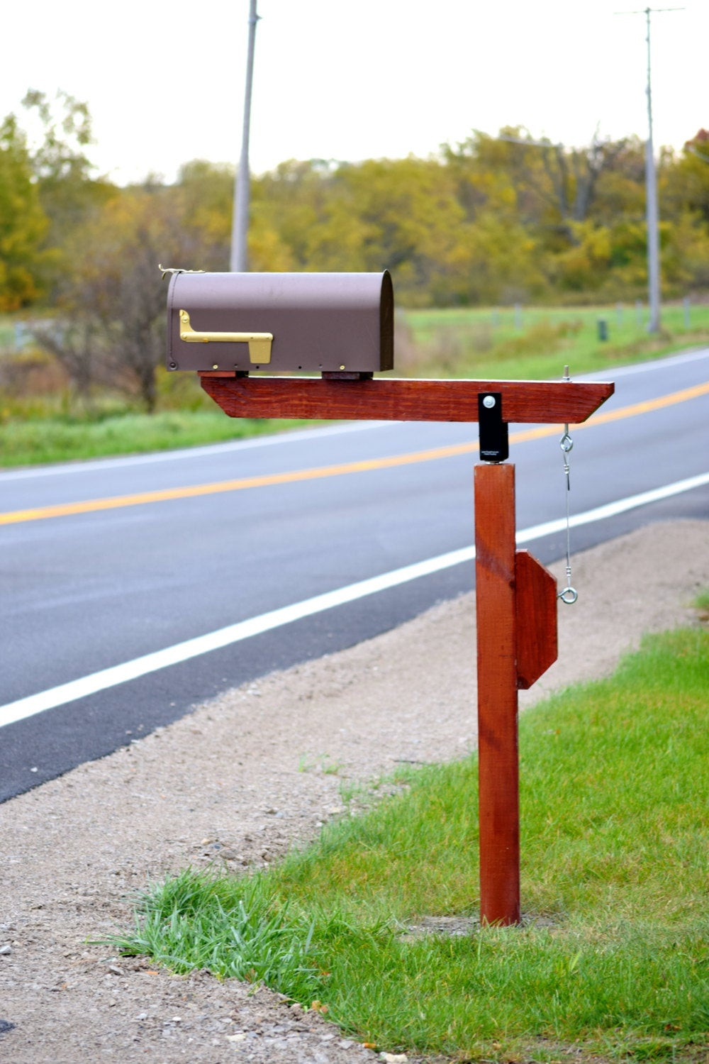 Best ideas about Mailbox Post DIY . Save or Pin DIY Plow Resistant Mailbox Post Hardware Kit Stainless Steel Now.