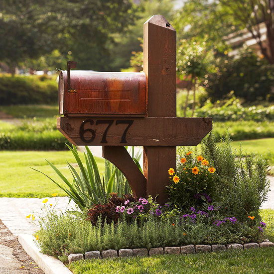 Best ideas about Mailbox Post DIY . Save or Pin DIY Mailbox Ideas Now.