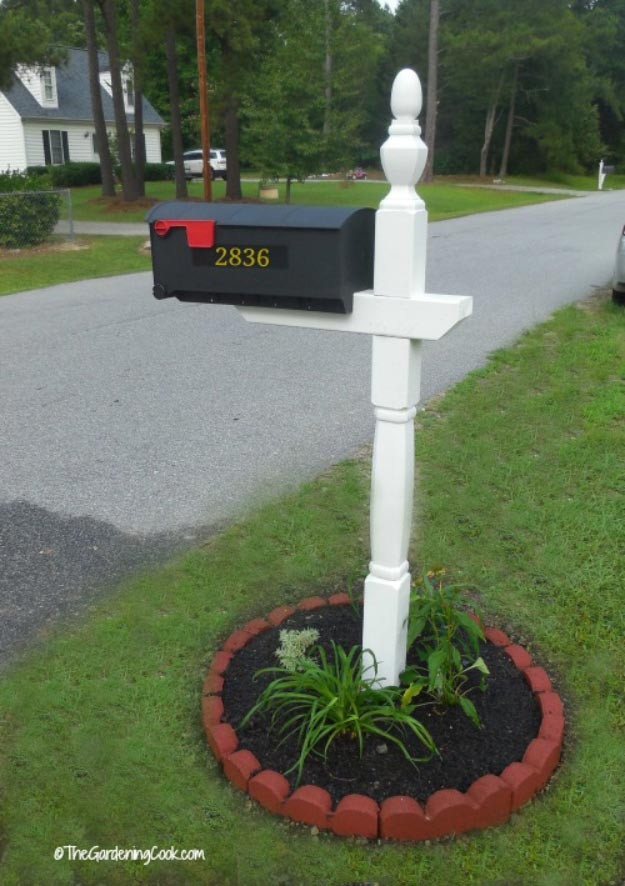 Best ideas about Mailbox Post DIY . Save or Pin 12 Creative DIY Mailboxes To Brighten Your Home Now.