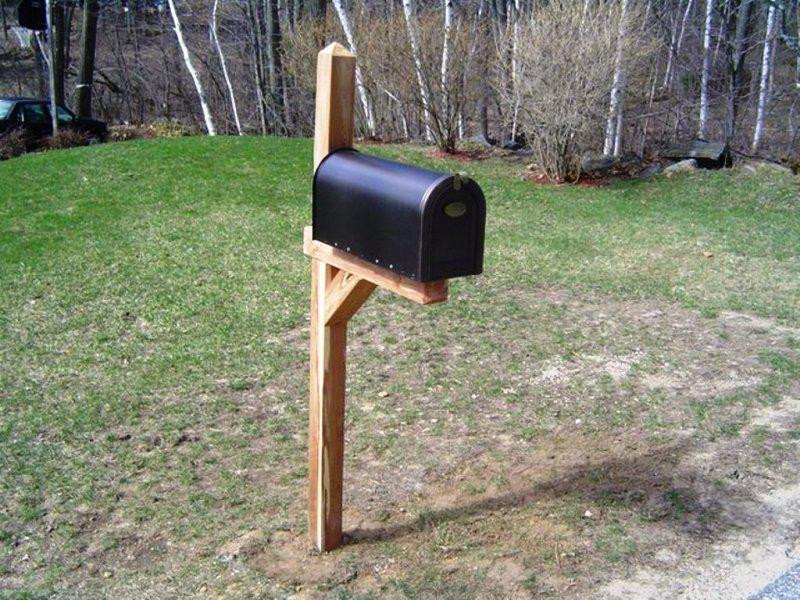 Best ideas about Mailbox Post DIY . Save or Pin Diy Mailbox Post Ideas — Capricornradio Now.