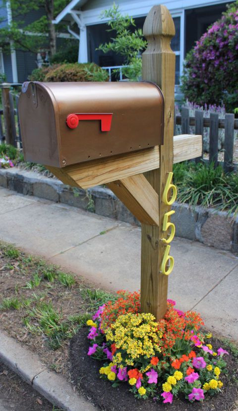 Best ideas about Mailbox Post DIY . Save or Pin 8 Easy DIY Mailbox Designs Decorative Mailbox Ideas Now.