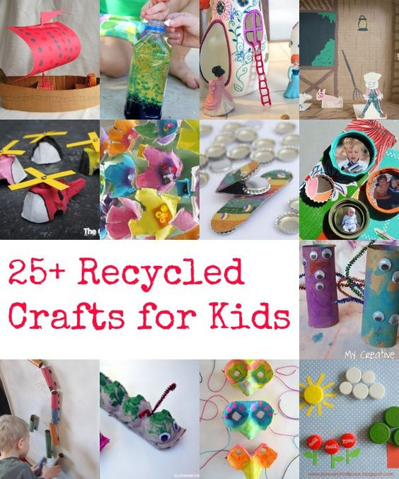 Best ideas about Making Stuff For Kids . Save or Pin Recycled crafts Crafts for kids and Recycling on Pinterest Now.