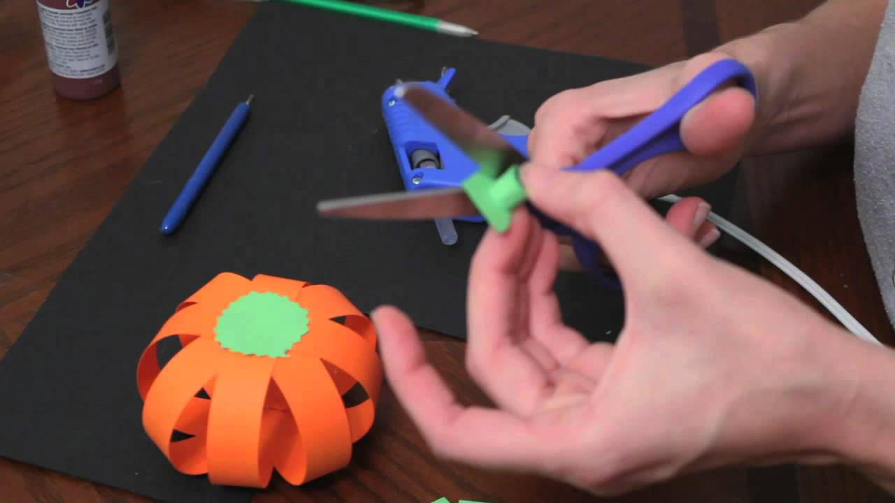 Best ideas about Making Stuff For Kids . Save or Pin How to make paper pumpkins for Fall Autumn and Halloween Now.