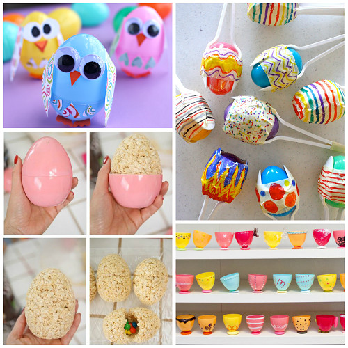 Best ideas about Making Stuff For Kids . Save or Pin Creative Things to Make out of Plastic Easter Eggs Now.