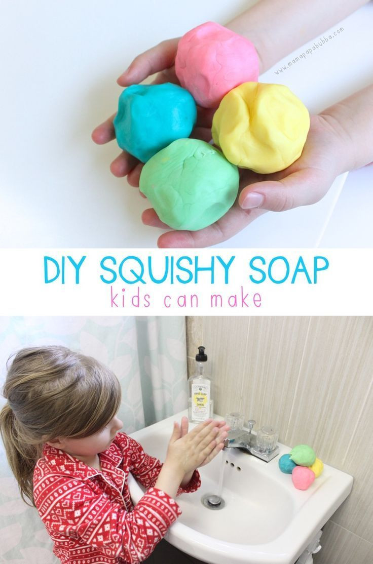 Best ideas about Making Stuff For Kids . Save or Pin DIY Squishy Soap Kids Can Make Now.