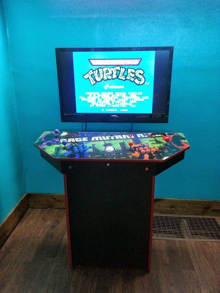 Best ideas about Mame Arcade Cabinet . Save or Pin 4 Player Pedestal Arcade Cabinet for MAME 32 Steps with Now.