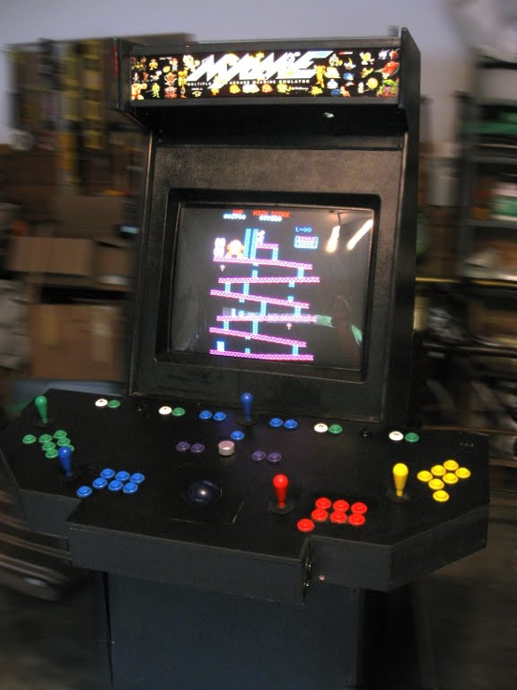 Best ideas about Mame Arcade Cabinet . Save or Pin Fifty Outs Everything in a box MAME Arcade Cabinet Now.