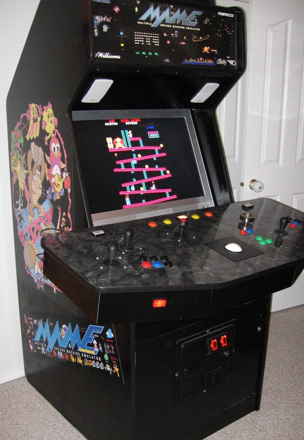 Best ideas about Mame Arcade Cabinet . Save or Pin anybody ever build their own MAME arcade cabinet AR15 Now.