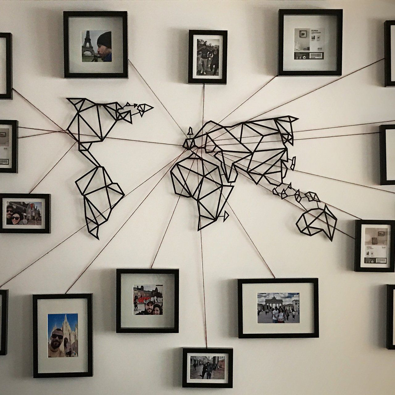 Best ideas about Map Wall Art . Save or Pin Pin by Paige Mikesell on Ideas Pinterest Now.