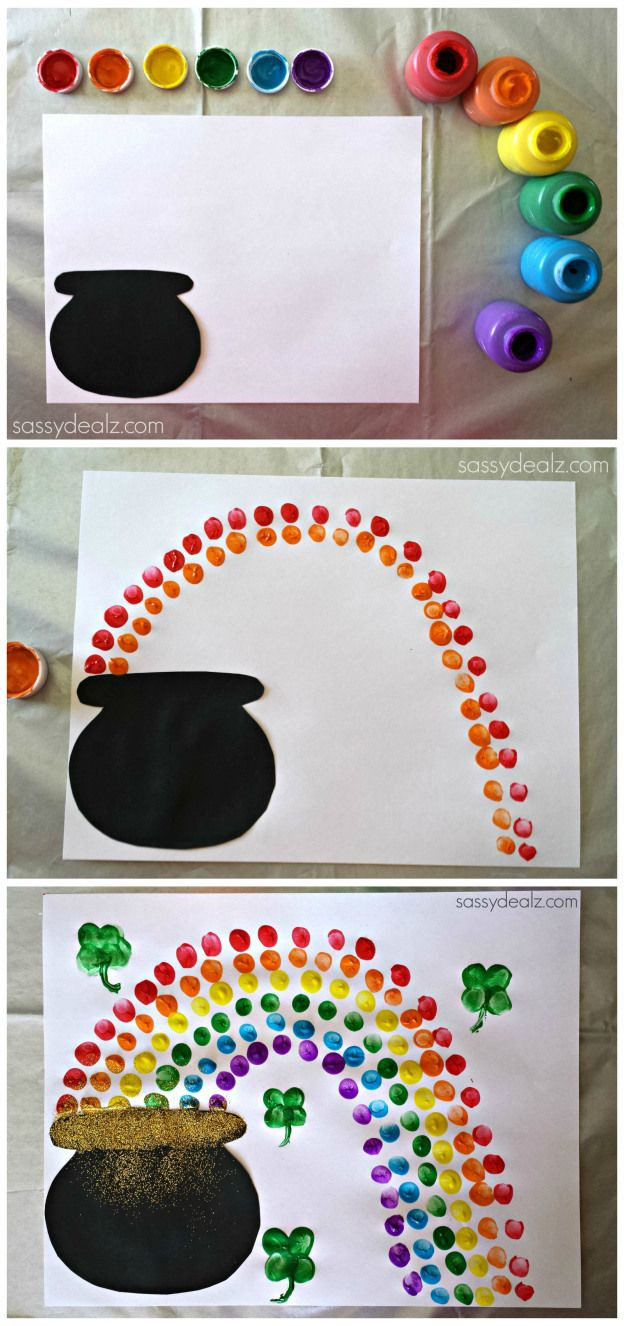 Best ideas about March Crafts For Kids . Save or Pin Easy St Patrick s Day Crafts For Kids Sassy Dealz Make Now.