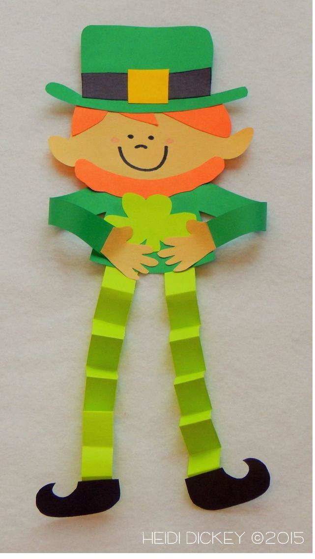 Best ideas about March Crafts For Kids . Save or Pin Leprechaun Craft Pack Now.