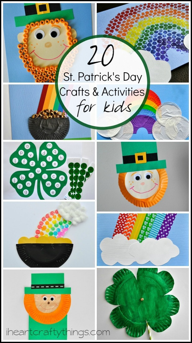 Best ideas about March Crafts For Kids . Save or Pin 20 St Patrick s Day Crafts and Activities for Kids Now.