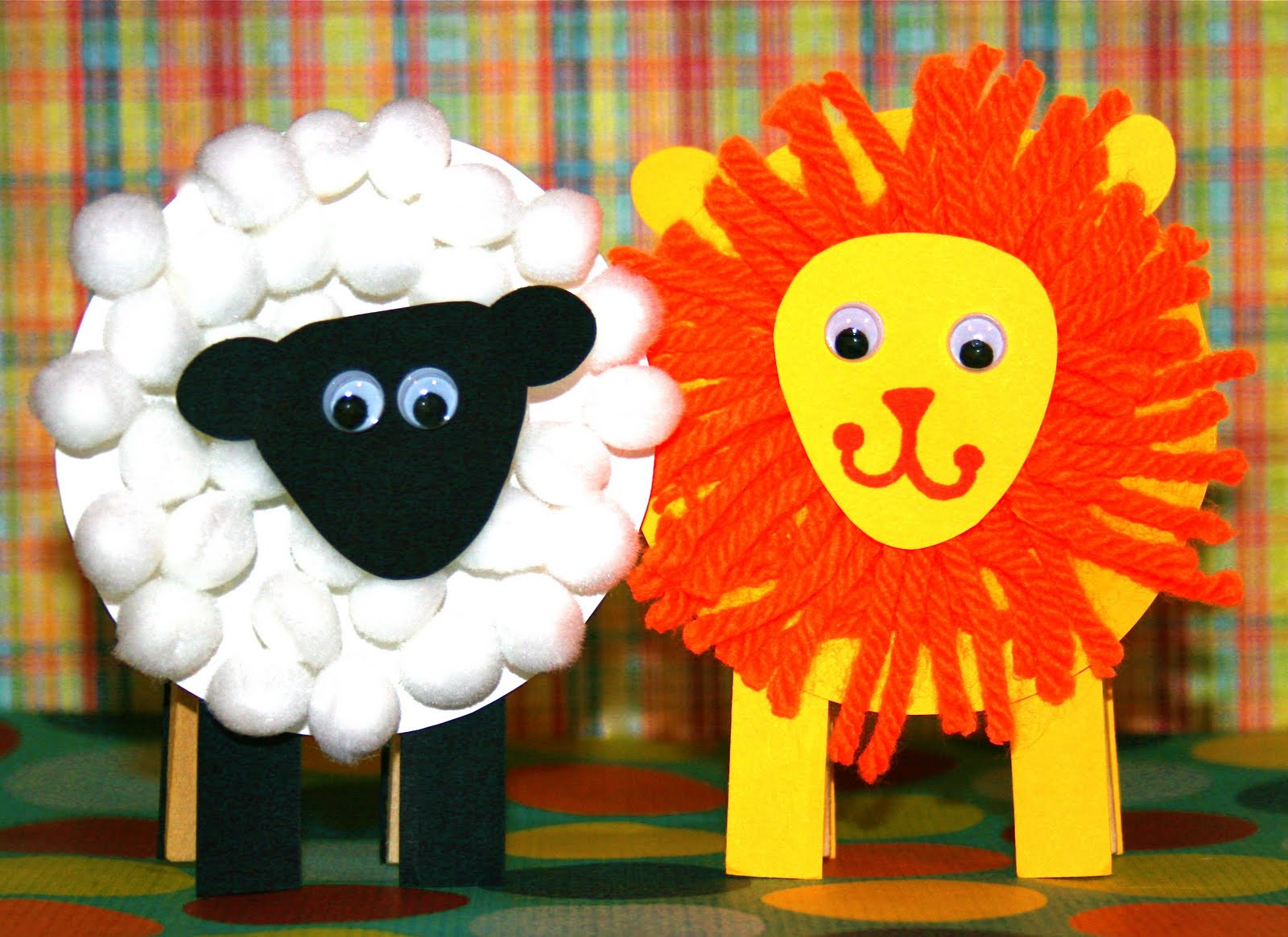 Best ideas about March Crafts For Kids . Save or Pin Smart Bottom Enterprises New Lion and Lamb Party Favor Kit Now.