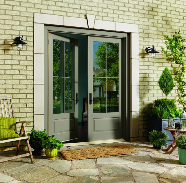 Best ideas about Marvin Patio Doors . Save or Pin Inswing French Doors by Marvin Traditional Patio Now.