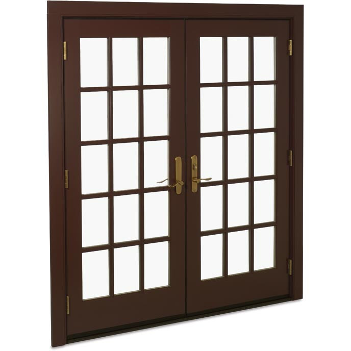 Best ideas about Marvin Patio Doors . Save or Pin Exterior Swinging French Patio Doors Now.