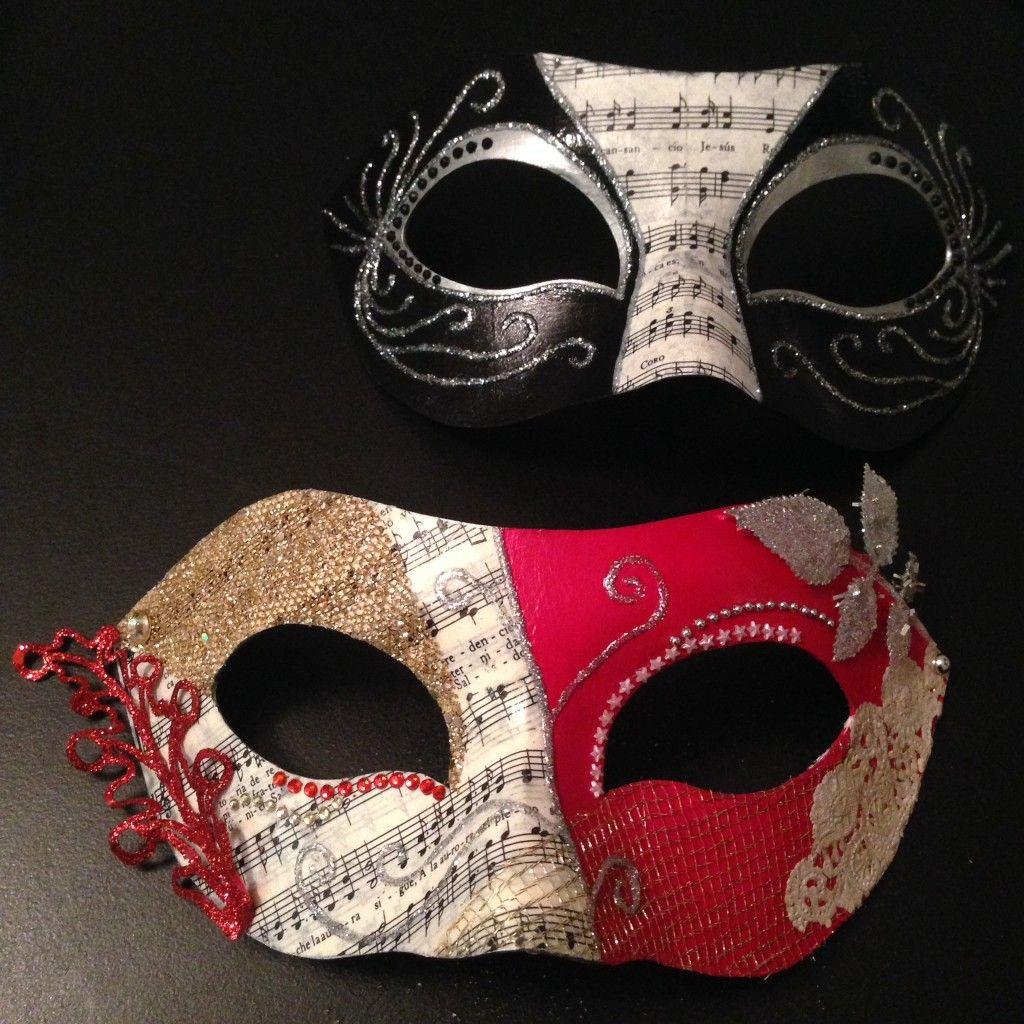 Best ideas about Masquerade Masks DIY . Save or Pin DIY Masquerade Masks by Circle City Creations Now.