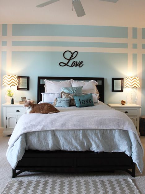 Best ideas about Master Bedroom Accent Wall . Save or Pin Best 25 Accent wall bedroom ideas on Pinterest Now.