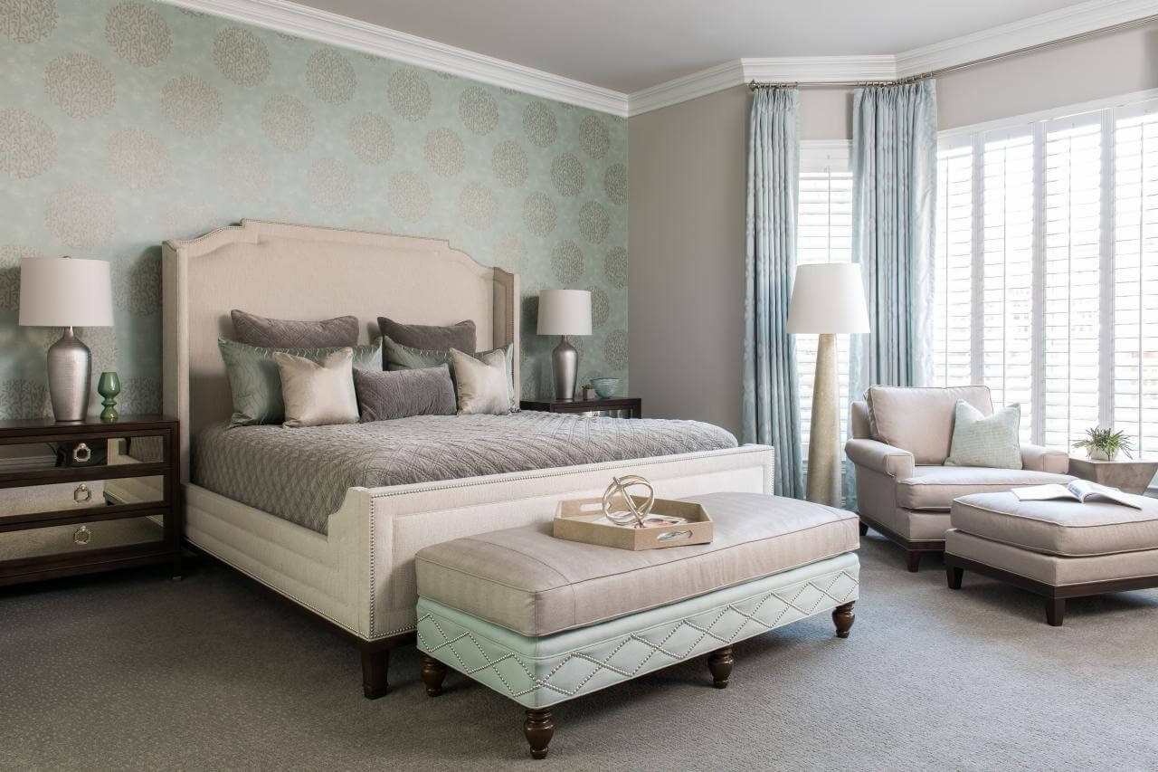 Best ideas about Master Bedroom Accent Wall . Save or Pin 132 Bedroom Ideas and Designs Gallery Stylish and Now.