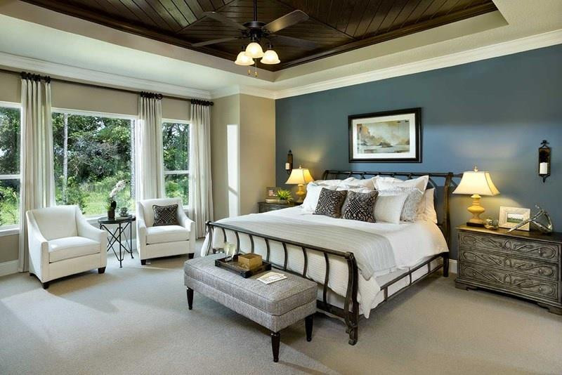 Best ideas about Master Bedroom Accent Wall . Save or Pin 25 Beautiful Bedrooms with Accent Walls Now.