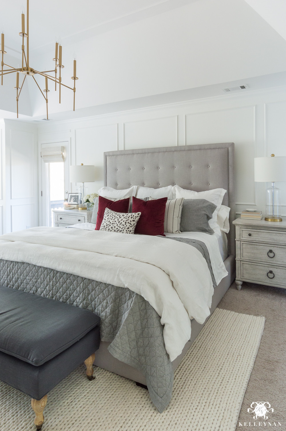 Best ideas about Master Bedroom Decor . Save or Pin e Room Challenge Master Bedroom Makeover Reveal Now.