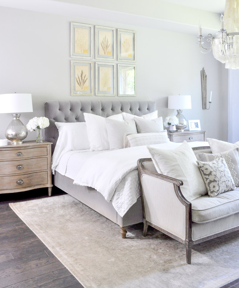 Best ideas about Master Bedroom Decor . Save or Pin Master Bedroom Update Reveal Decor Gold Designs Now.