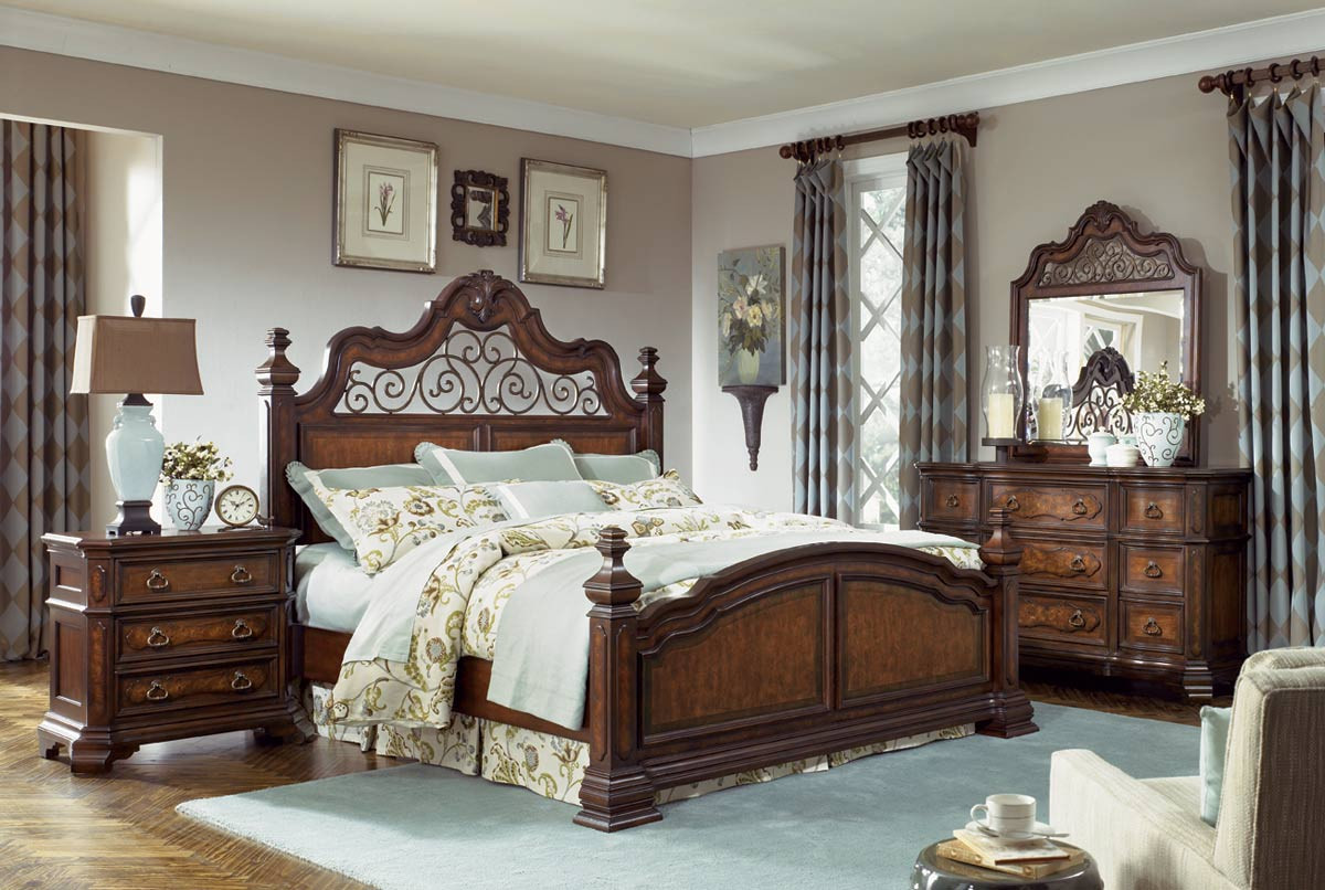 Best ideas about Master Bedroom Sets . Save or Pin Legacy Classic Royal Tradition Poster Bedroom Set 1080 Now.