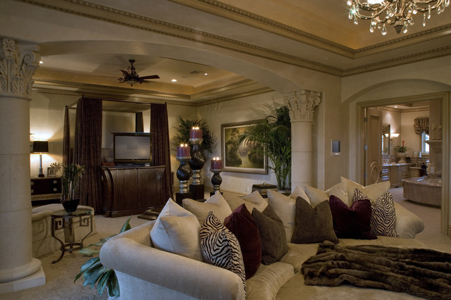 Best ideas about Master Bedroom Suite . Save or Pin Master Suite Mediterranean Bedroom Las Vegas by Now.