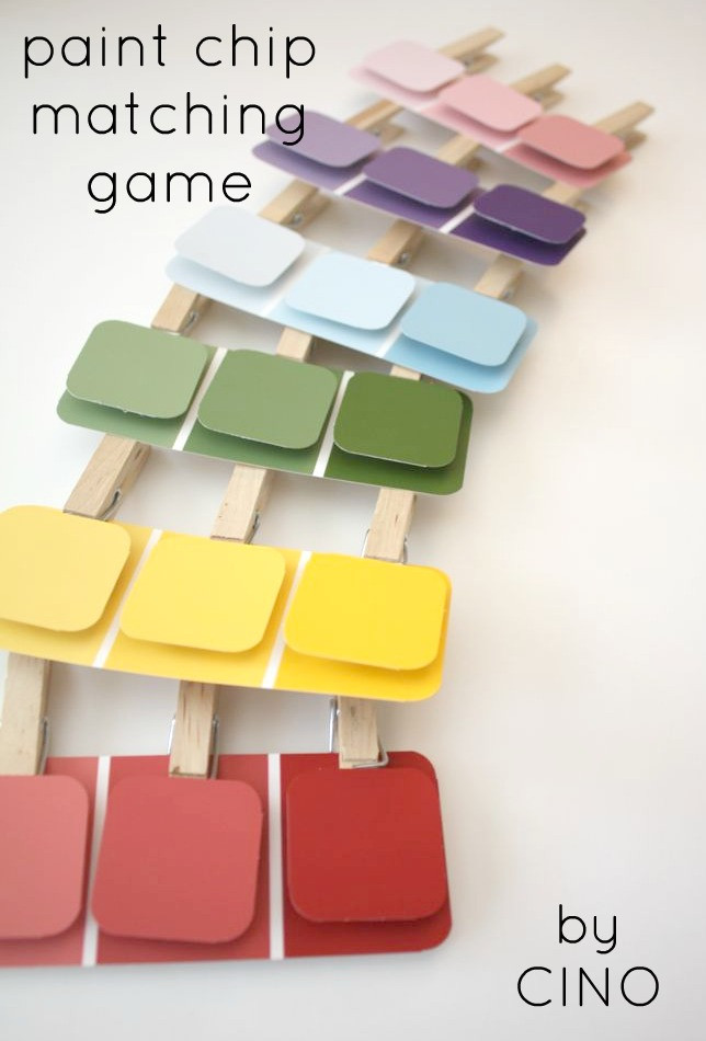 Best ideas about Matching Paint Colors . Save or Pin paint chip matching game tutorial Now.