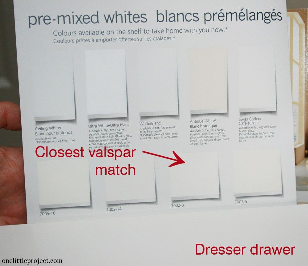 Best ideas about Matching Paint Colors . Save or Pin What paint colour is IKEA Hemnes white Now.