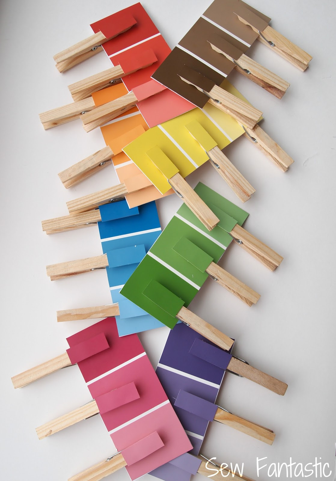 Best ideas about Matching Paint Colors . Save or Pin Sew Fantastic Paint Chip Matching Game Now.