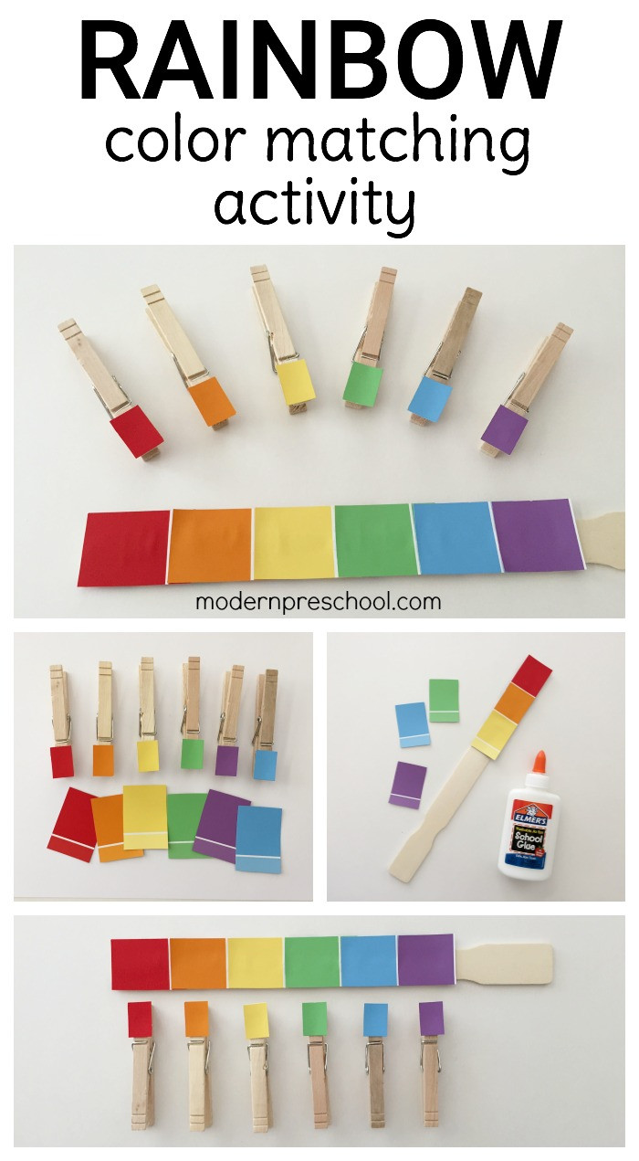 Best ideas about Matching Paint Colors . Save or Pin Rainbow Paint Chip Color Match Now.