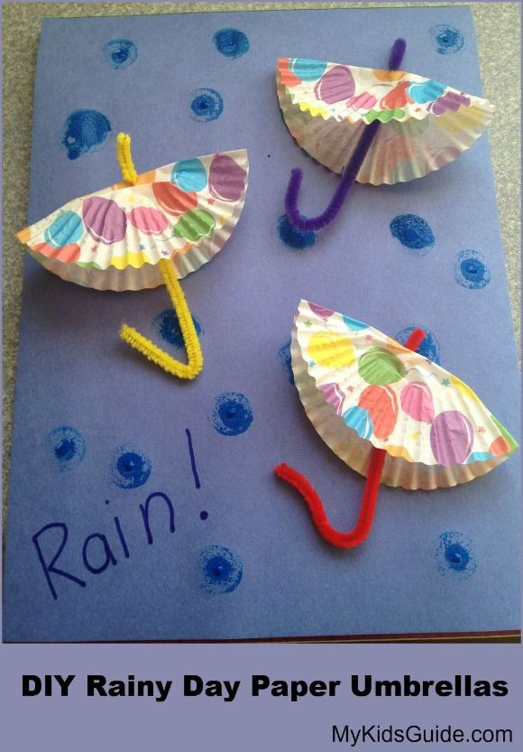 Best ideas about May Crafts For Kids . Save or Pin Craft for Kids DIY Rainy Day Paper Umbrellas My Kids Now.