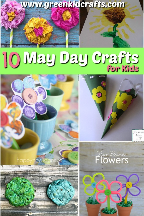 Best ideas about May Crafts For Kids . Save or Pin 10 Fun May Day Crafts for Kids to make this Spring Now.