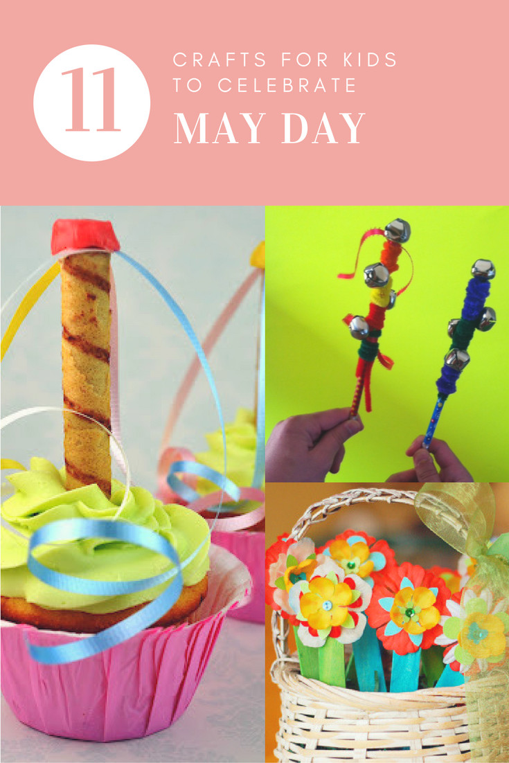 Best ideas about May Crafts For Kids . Save or Pin 11 crafts for kids to celebrate May Day the gingerbread Now.