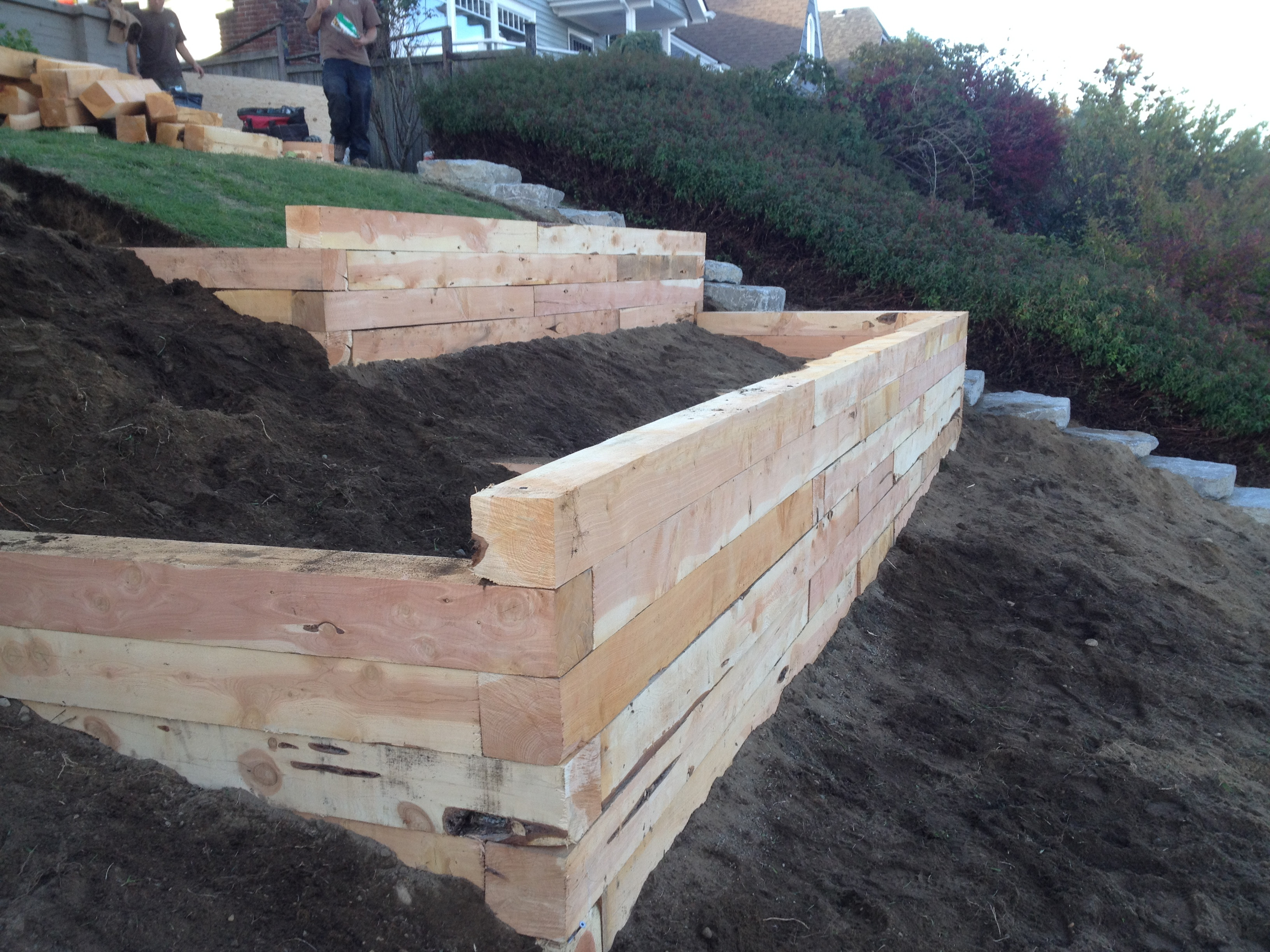 Best ideas about Menards Landscape Timbers . Save or Pin Landscaping Landscape Timbers Lowes With Best Quality Now.