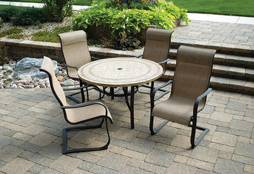 Best ideas about Menards Patio Furniture . Save or Pin 21 Awesome Patio Dining Sets Menards pixelmari Now.