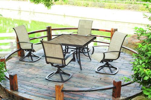 Best ideas about Menards Patio Furniture . Save or Pin Verona 5pc Patio Set at Menards Now.
