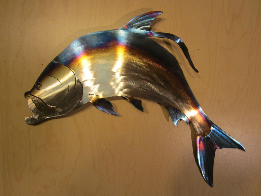 Best ideas about Metal Fish Wall Art . Save or Pin TARPON TEXAS FLORIDA SALT WATER FISH FISHING LODGE METAL Now.